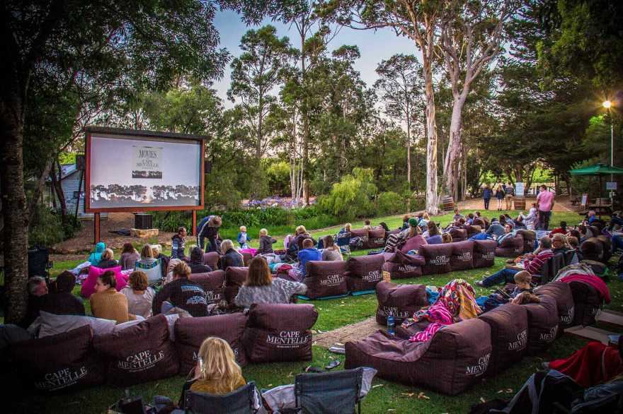Cape Mentelle Movie Night. Photo courtesy of The Margaret River Discovery Co