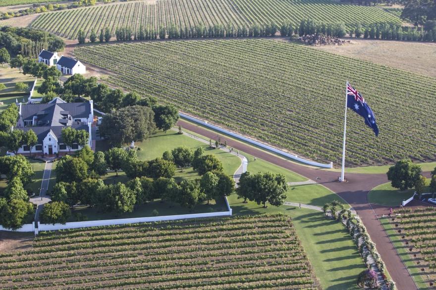 Aerial views of Voyager Estate. 21 November 2015