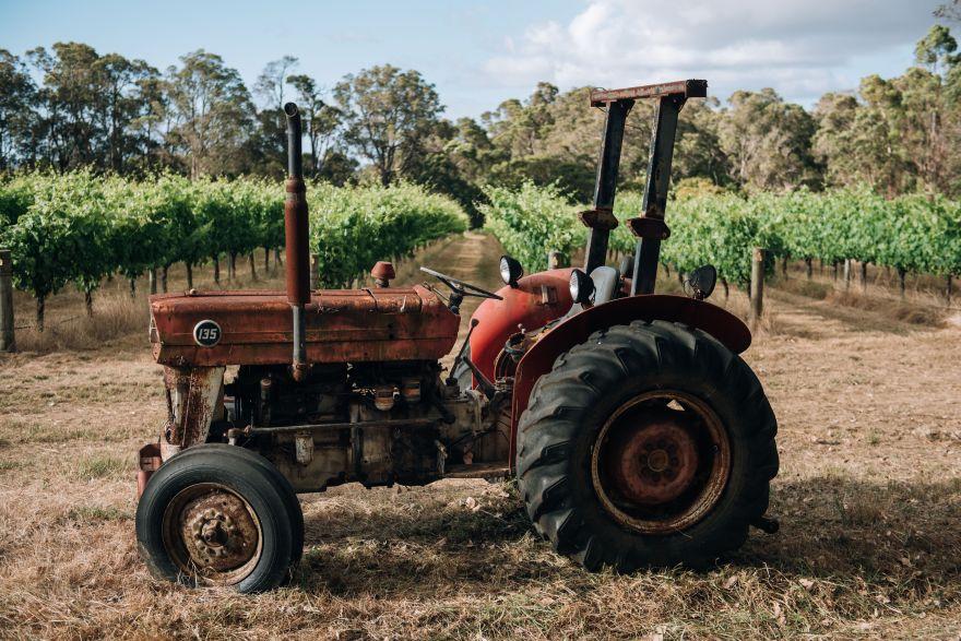 Cape Grace tractor