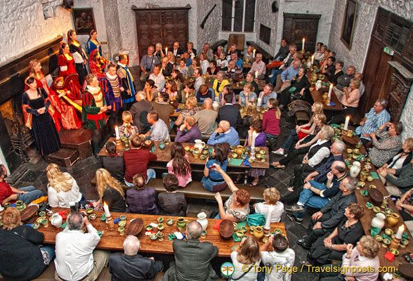 Bunratty banquet full room